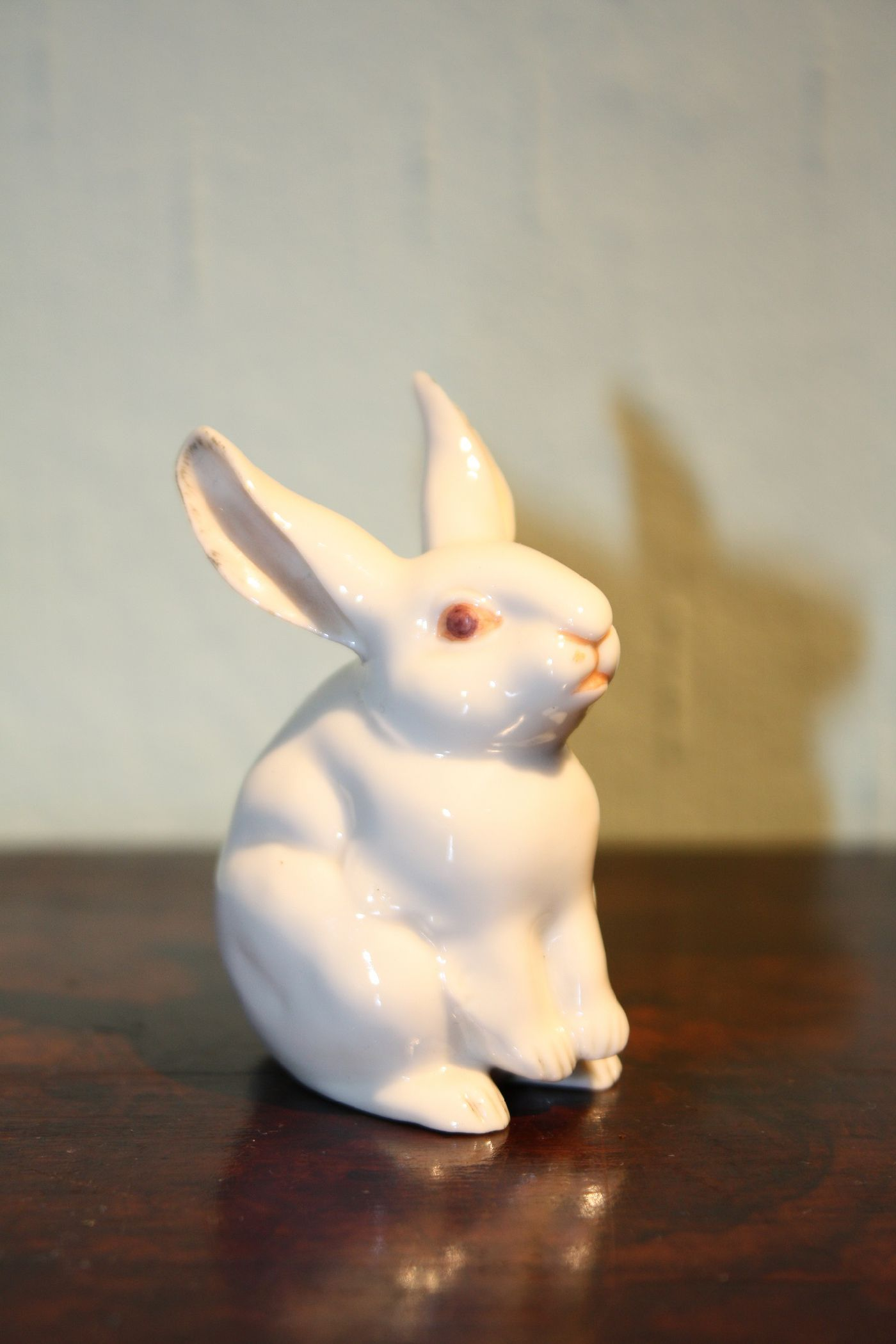 Porzellanfigur Hase Nymphenburg